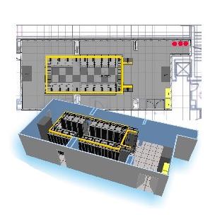Schema Impianto Cablaggio Strutturato : Cablaggio strutturato milano u realizzazione reti cablate lan rame